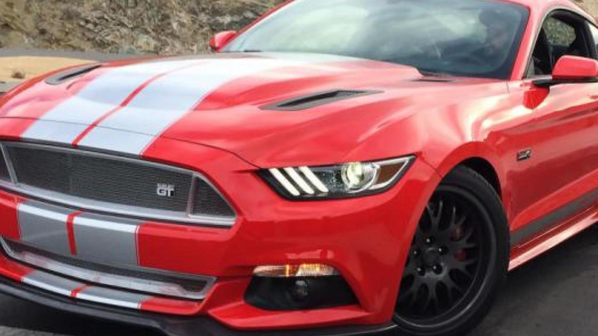 2015 Shelby GT photographed completely undisguised