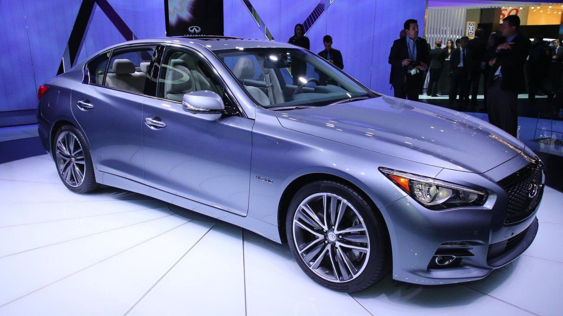 Infiniti Q50 to get turbo 4-cylinder and a diesel