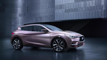Infiniti Q30 concept returns in new official photos