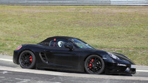 Porsche Boxster facelift spied on the 'Ring hiding minor cosmetic tweaks (22 pics)