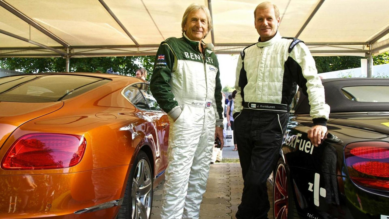 Bentley Continental SuperSports tackles Goodwood, with Juha Kankunnen behind the wheel