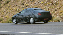 2011 Peugeot 408 First Spy Photos on the Road