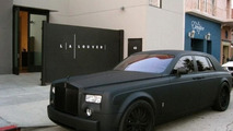 Matte Black Rolls-Royce Phantom