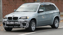 2011 BMW X5 Facelift Prototype Spy Photo