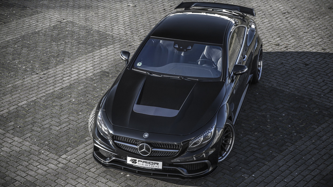 Mercedes S-Class Coupe by Prior Design