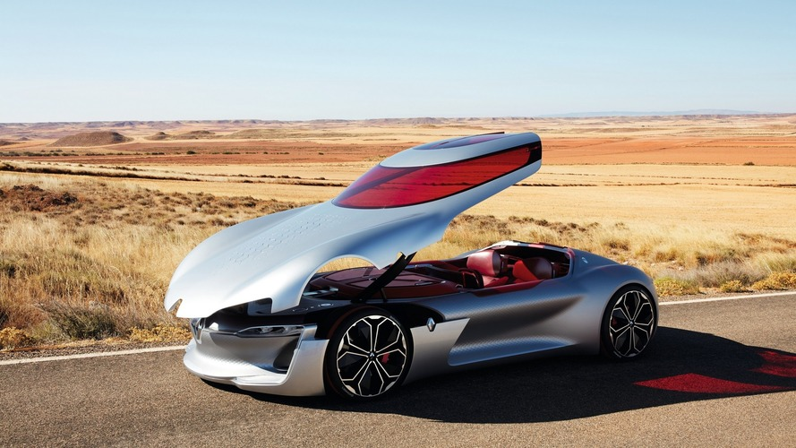 Renault Trezor concept is the shape of things to come