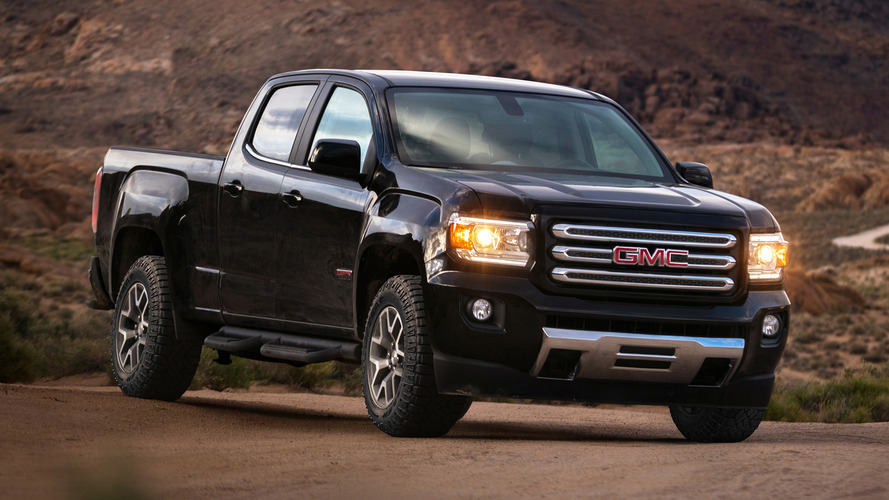 2017 GMC Canyon also gets new V6, eight-speed auto