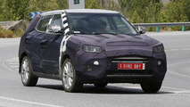 2015 Ssang Yong X100 B-segment crossover spied