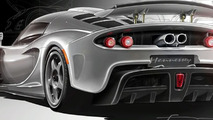 Hennessey Venon GT concept illustrations - wing up - 1280
