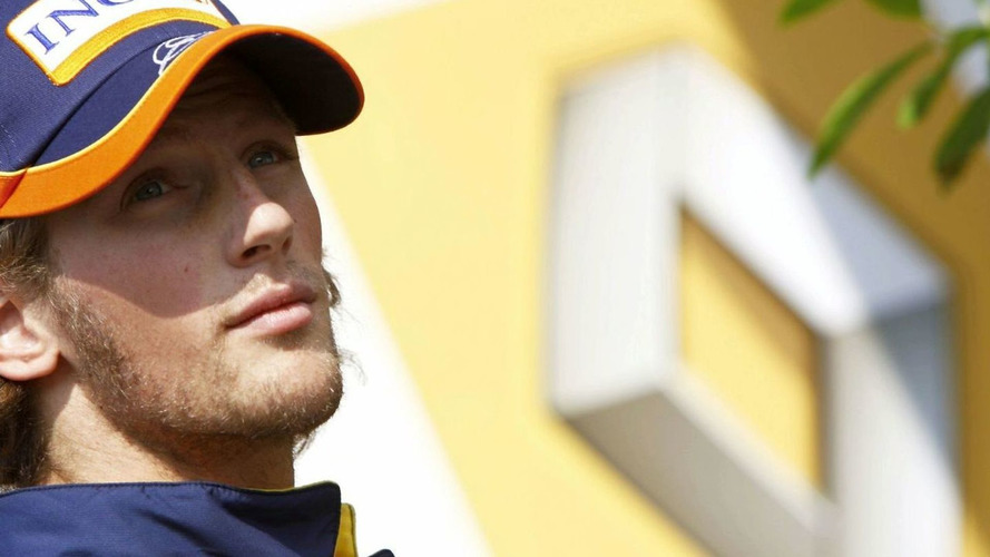 Grosjean is Renault reserve driver at Spa