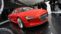 Audi R8 e-Tron production version begins testing
