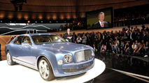 Bentley Mulsanne celebrates European Debut at 2009 IAA