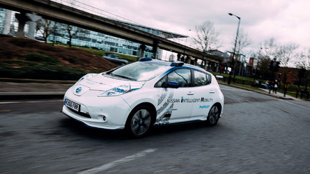Self-driving Nissan Leaf fleet undergoes urban testing in London