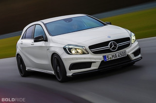 Mercedes-Benz A45 AMG is a Handsome Bundle of German Power