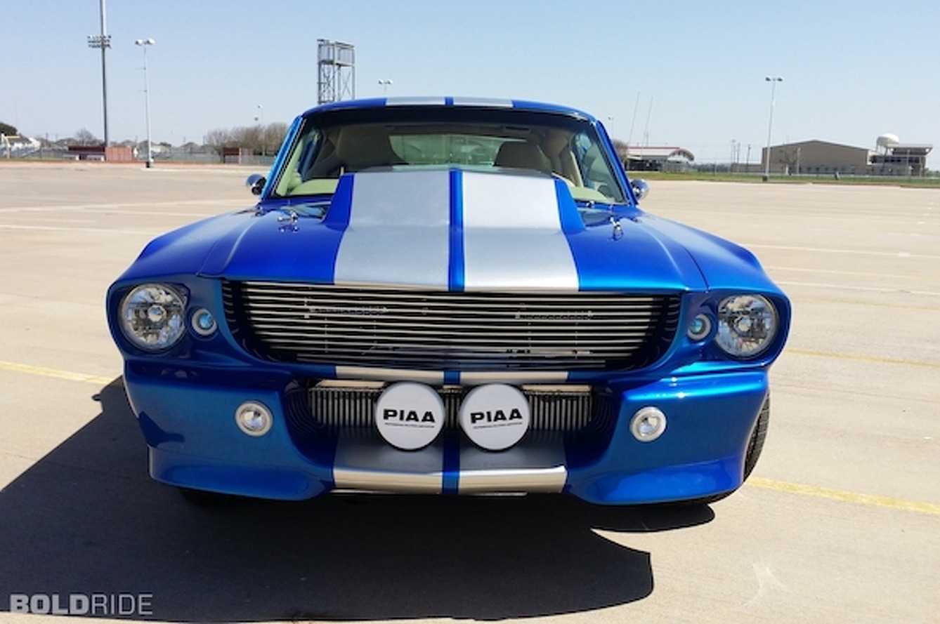 Your Ride: 1967 Ford Mustang Blue Boss Custom