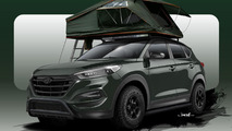 Hyundai Tucson Adventuremobile teased for SEMA