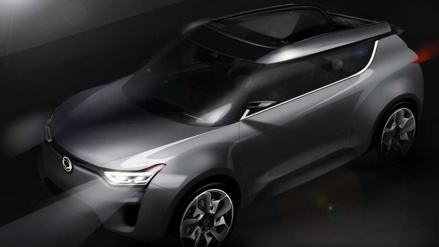 Ssangyong XIV-2 CUV-Convertible Concept previewed