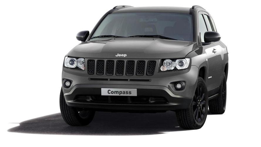 Jeep Compass black look concept announced for Geneva