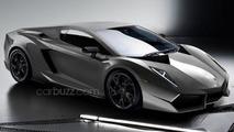 Lamborghini Gallardo successor concept arriving at Frankfurt Motor Show - report