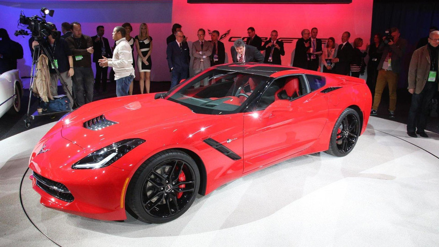 2014 Chevrolet Corvette Stingray costs 61,495 GBP