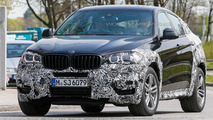 2015 BMW X6 spy photo