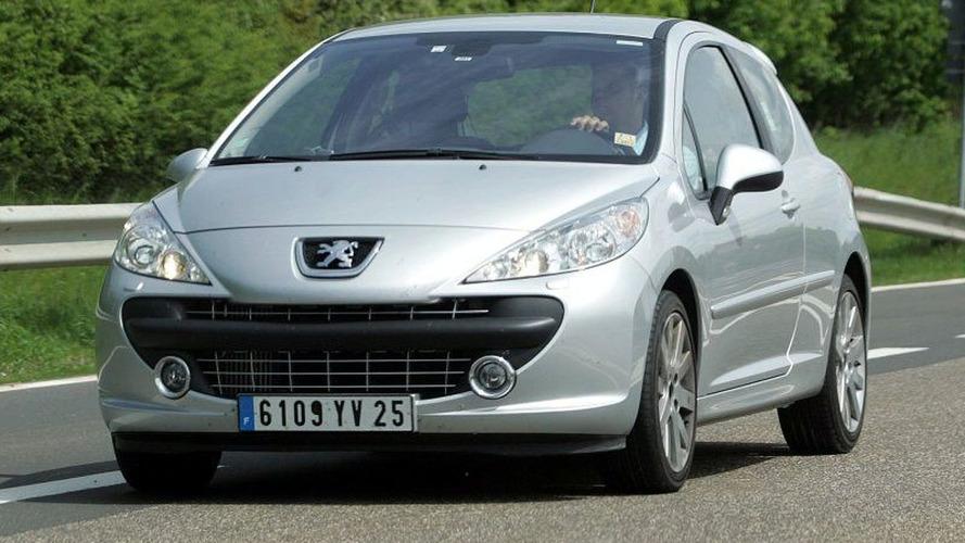 Peugeot 207 RC Undisguised Spy Photos