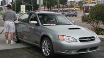 Subaru Legacy R spec B Spy Photos