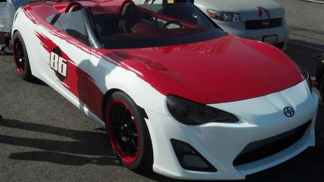 Scion FR-S Convertible concept 09.4.2012