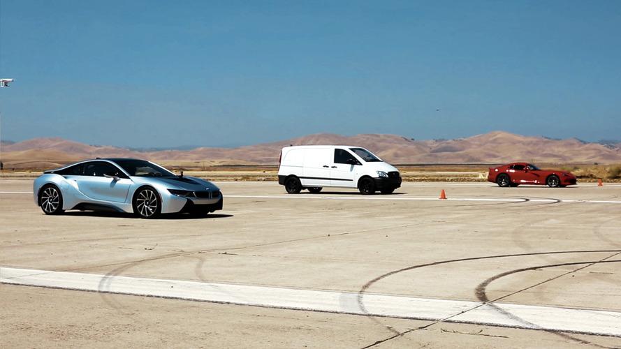 Atieva EV prototype beats BMW i8 and Dodge Viper in latest drag race