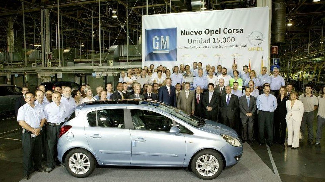Fourth Generation Opel Corsa Production