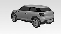 MINI Paceman hits the patent office