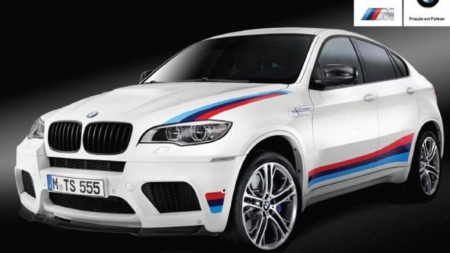 BMW X6 M Design Edition leaked
