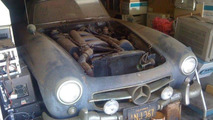1955 Mercedes-Benz 300 SL gullwing found buried under pile of old computers