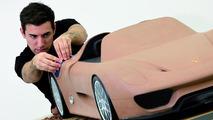 Porsche 918 Spyder teaser image released