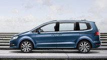 2015 Volkswagen Sharan facelift