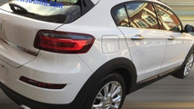 Qoros 3 City SUV spy photo / carnewschina.com