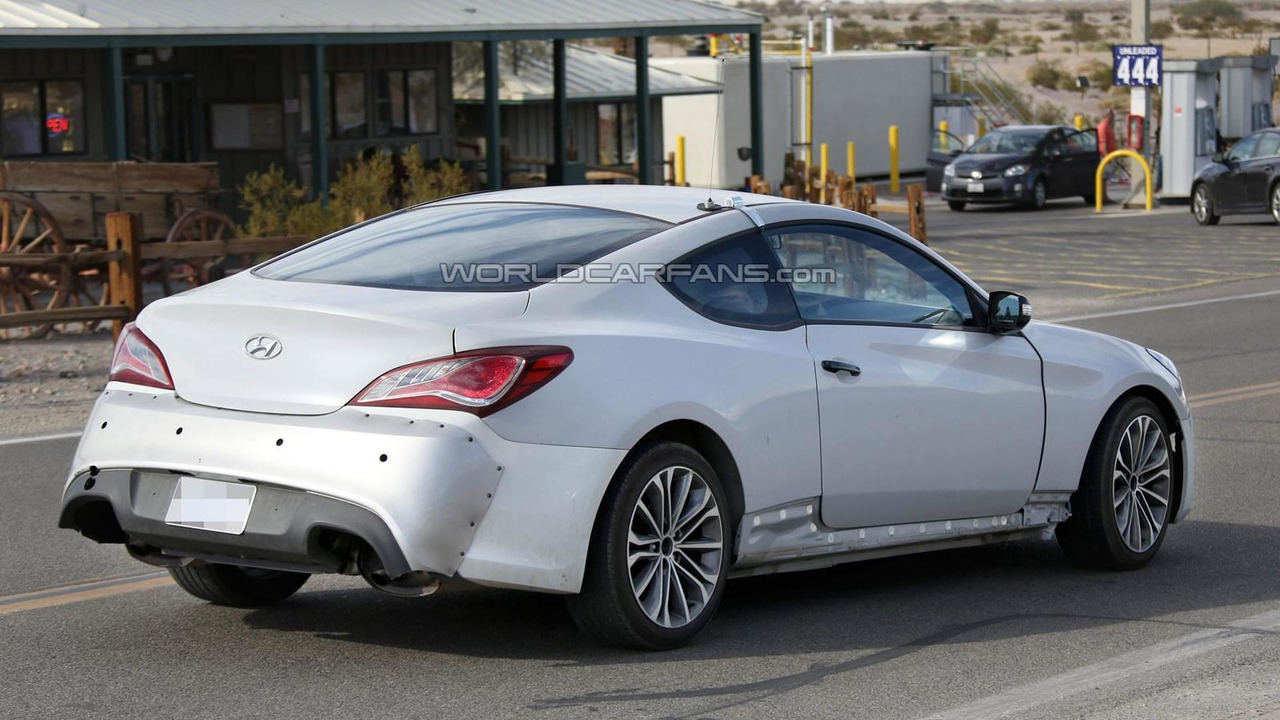 Ford Focus Rs Rx >> 2016 Hyundai Genesis Coupe spied