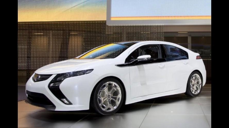 Opel oferecerá modelo elétrico para locação na Europa