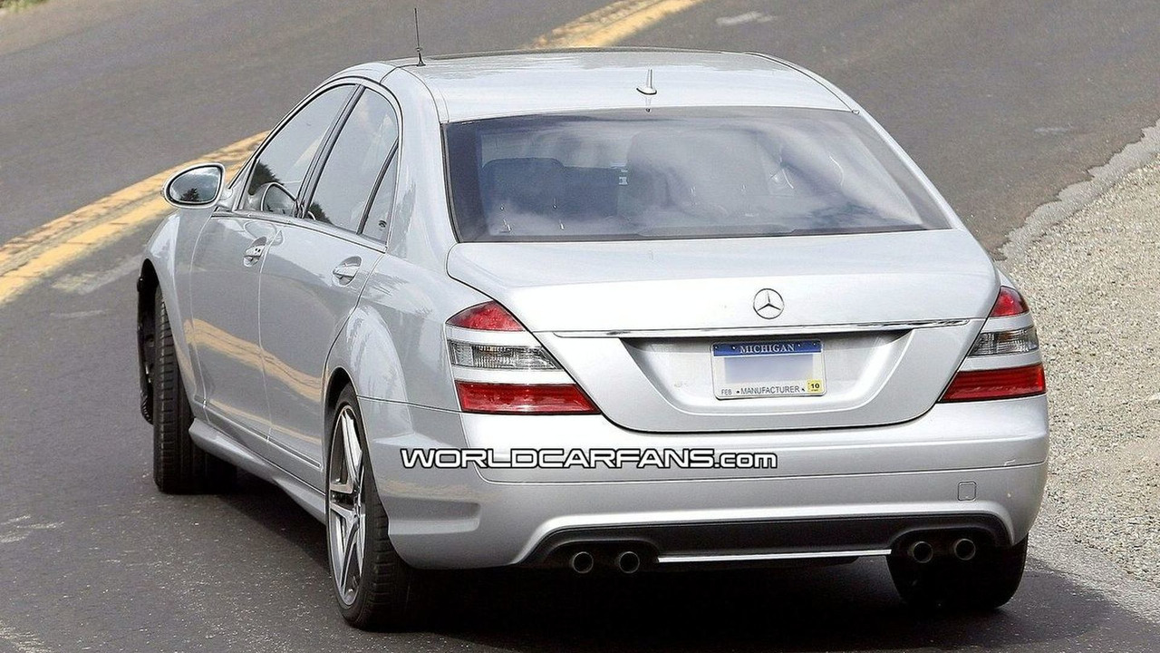 Mercedes S 63 AMG Facelift Spy Photos