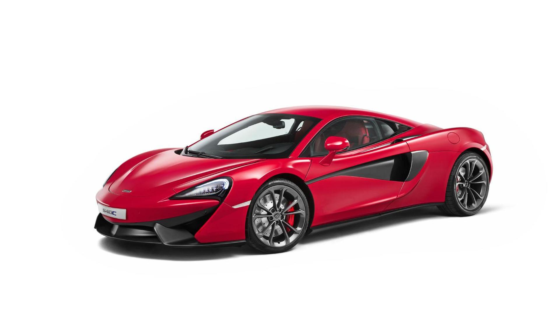 McLaren 540C unveiled, is their most affordable model to date