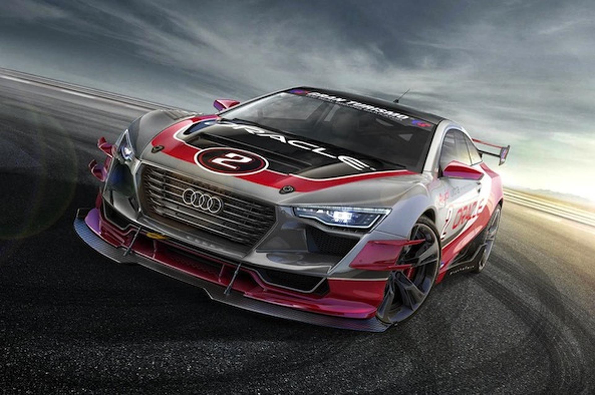 Audi R4 Concept Coupe is So Pretty It Hurts