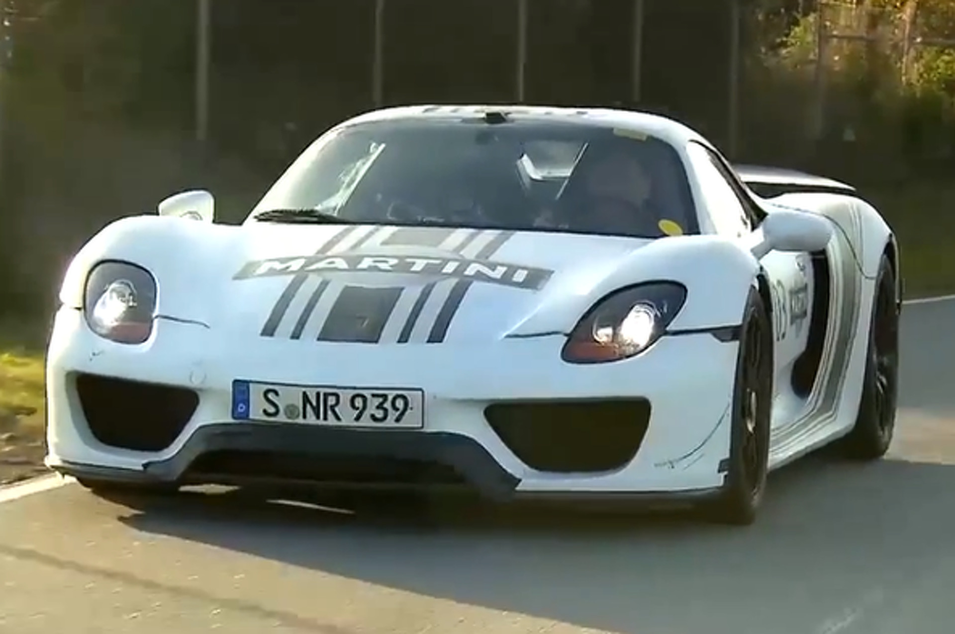Chris Harris Rides Passenger in the Porsche 918 Spyder and Sort of Likes It