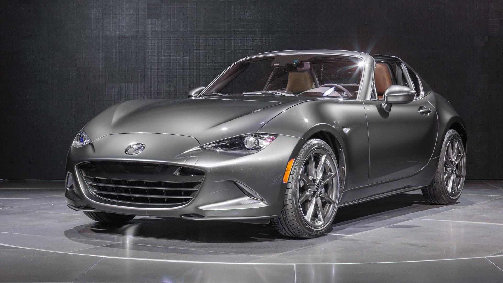 2017 Mazda MX-5 Miata RF to get limited-run Launch Edition