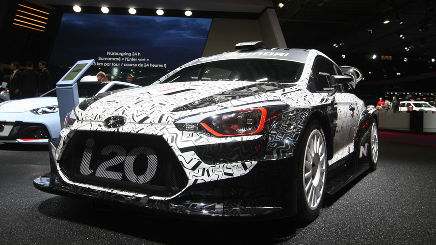 Hyundai i20 WRC challenger revealed in Paris
