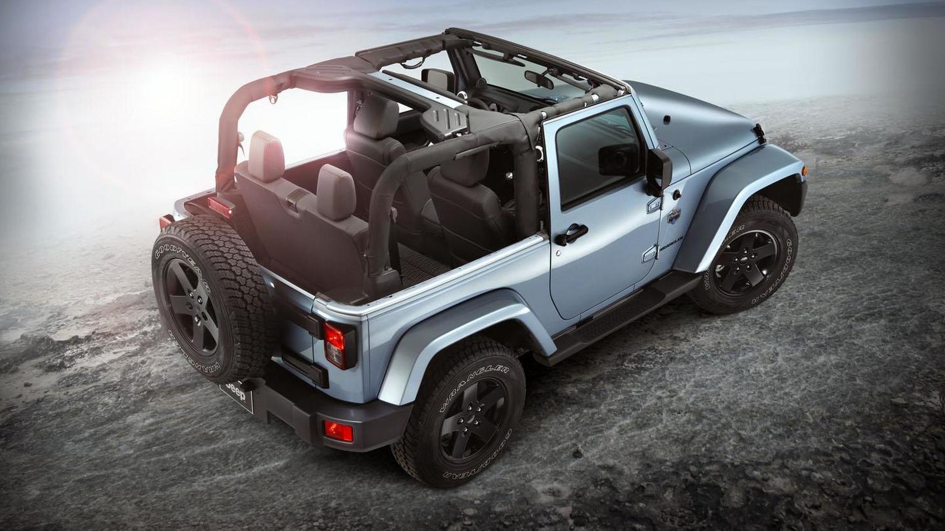 Jeep Wrangler Arctic revealed