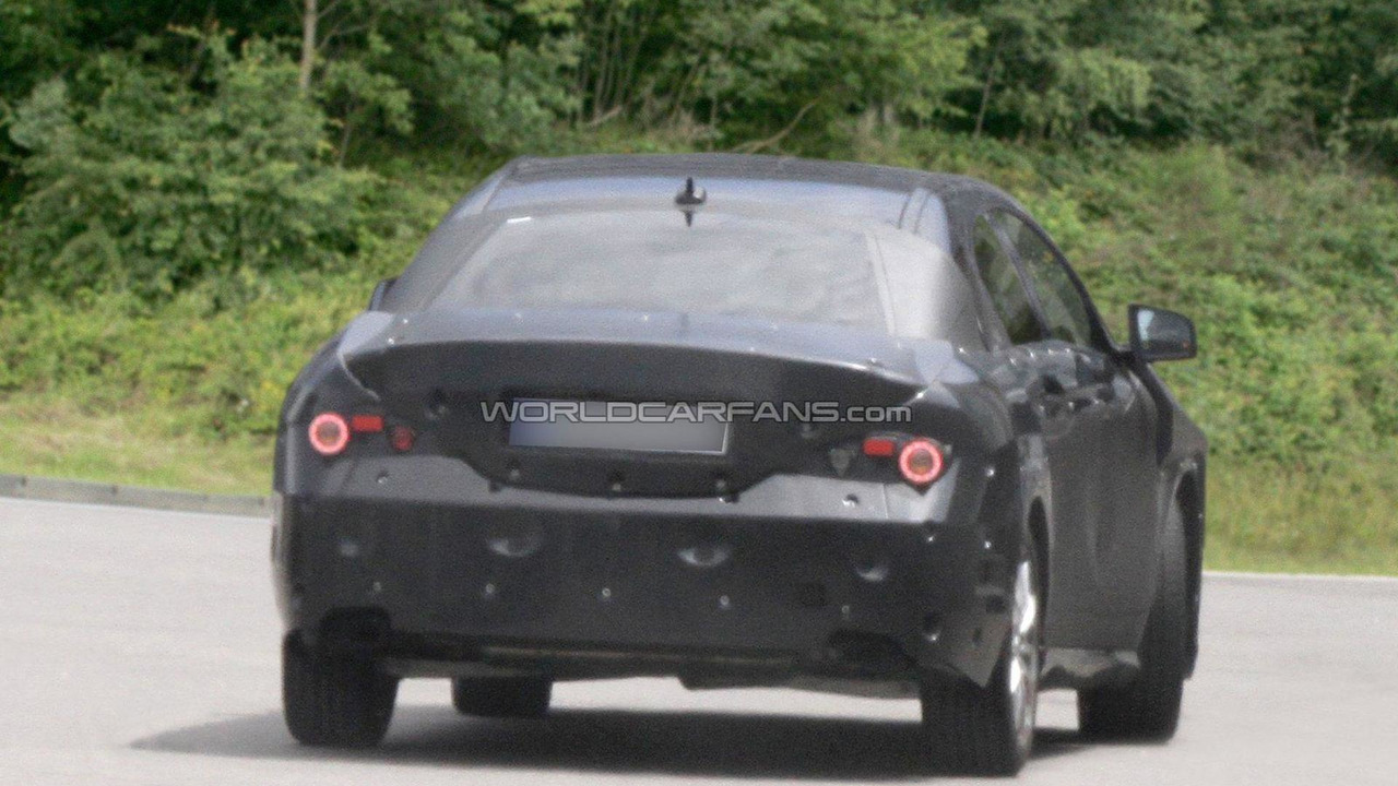 2013 Mercedes-Benz BLS 4-door coupe spied 20.06.2011