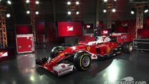 Ferrari presents its 2016 F1 car