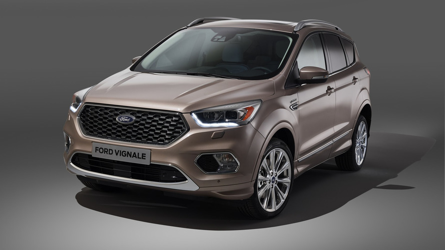 Upscale Ford Kuga Vignale confirmed for Europe