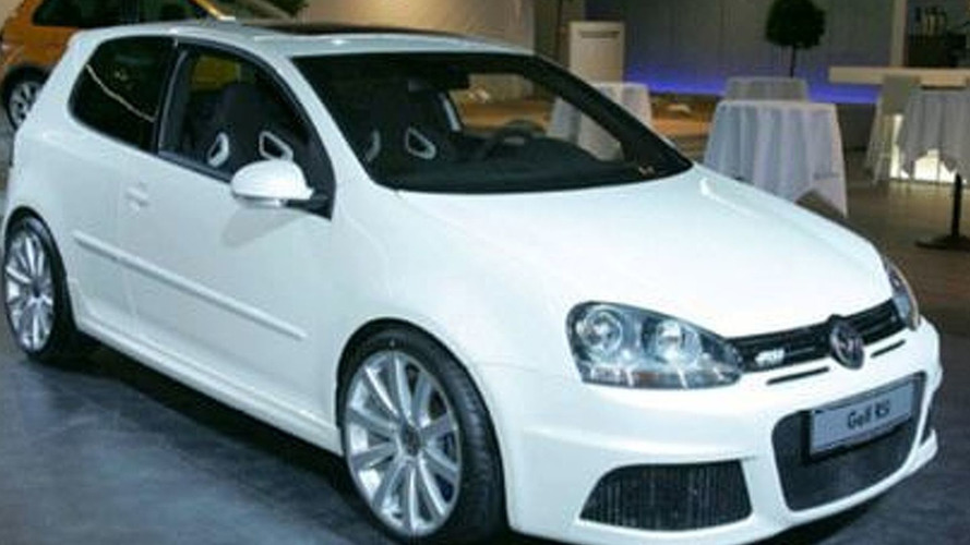 VW Golf RS Sneak Peak
