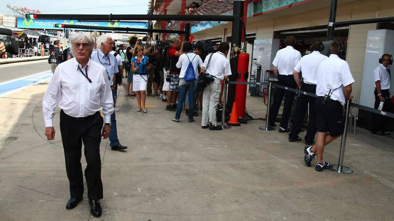 Bernie Ecclestone (GBR), European Grand Prix, Saturday Practice, 26.06.2010 Valencia, Spain